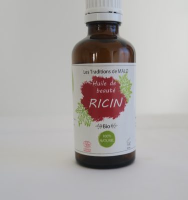 Les TRADITIONS de MALO Huiles végétales cosmétiques BIO de beauté RICIN BIO